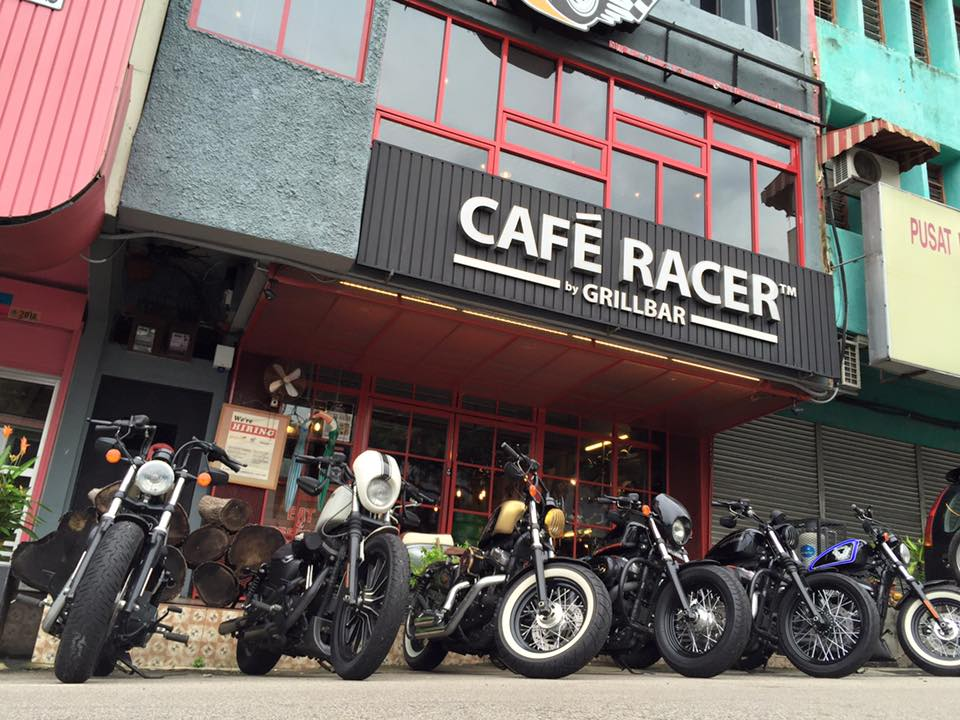 cafe racer by grill bar