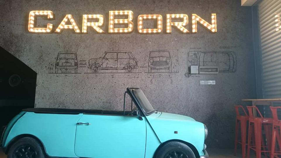 car born cafe