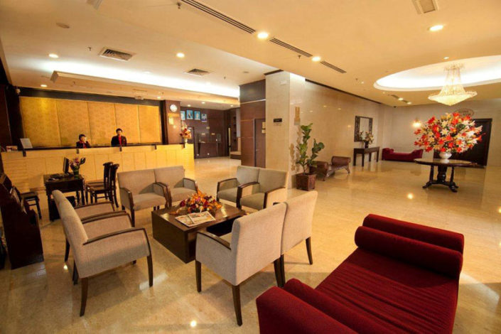 hotel sentral dining area