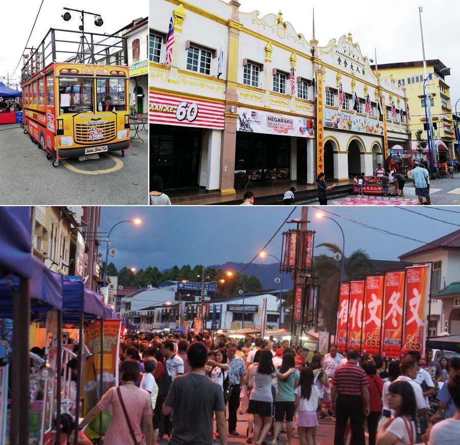 bentong walk street