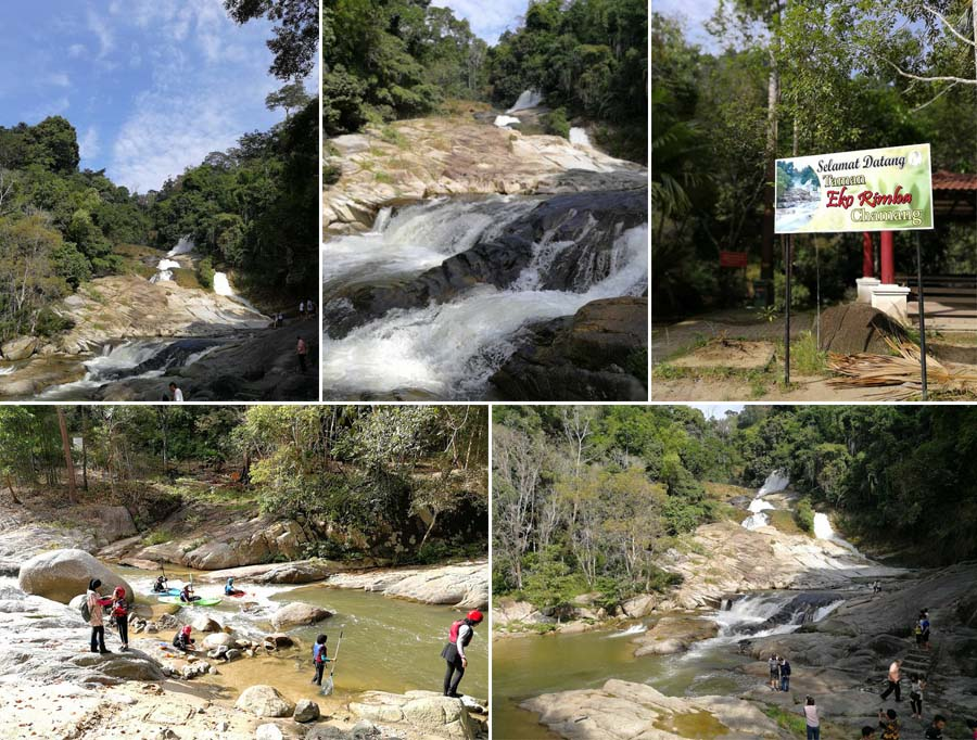 bentong chamang waterfall