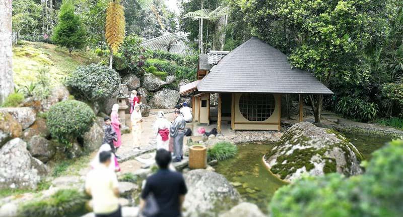 japanese village bukit tinggi